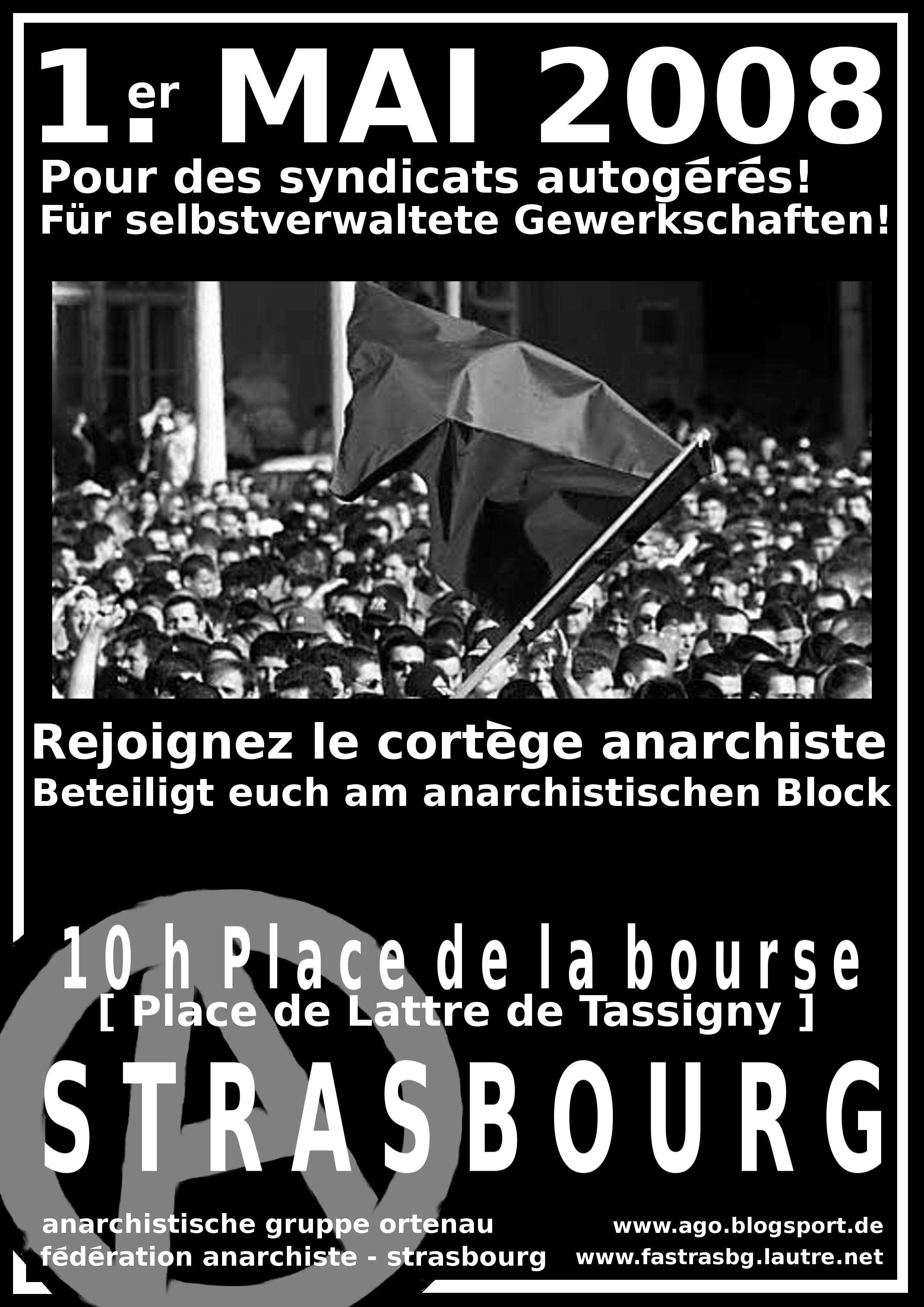 1. mai 2008 strasbourg